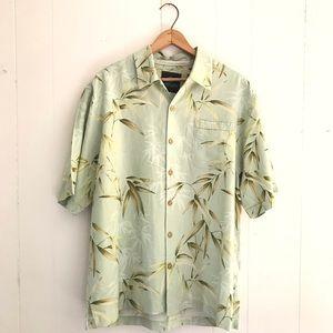 Vintage Silk Hawaiian Shirt